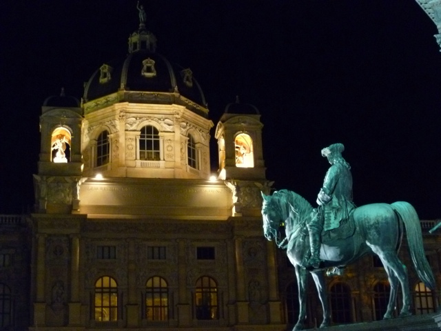Vienna, taken the night after we saw Alcina.