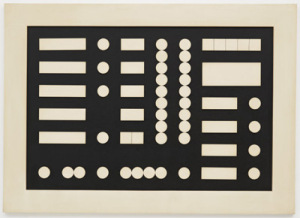 Sophie Taeuber, Schematic Composition, 1933